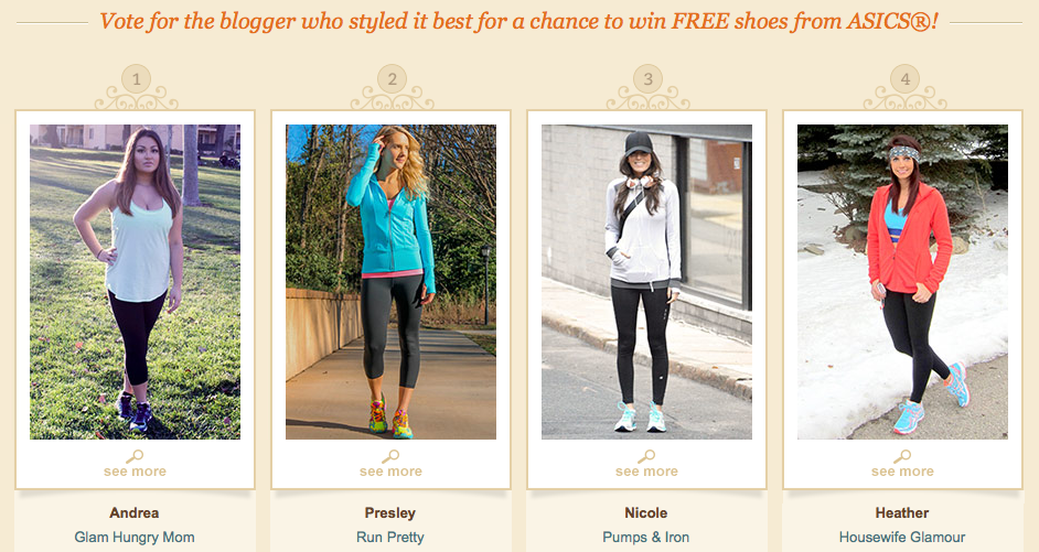 Online Shoes Monthly Blogger Styling Contest