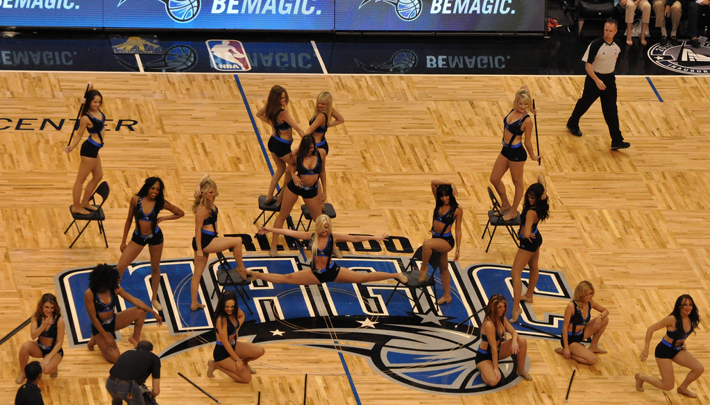 orlando magic dancers burlesque