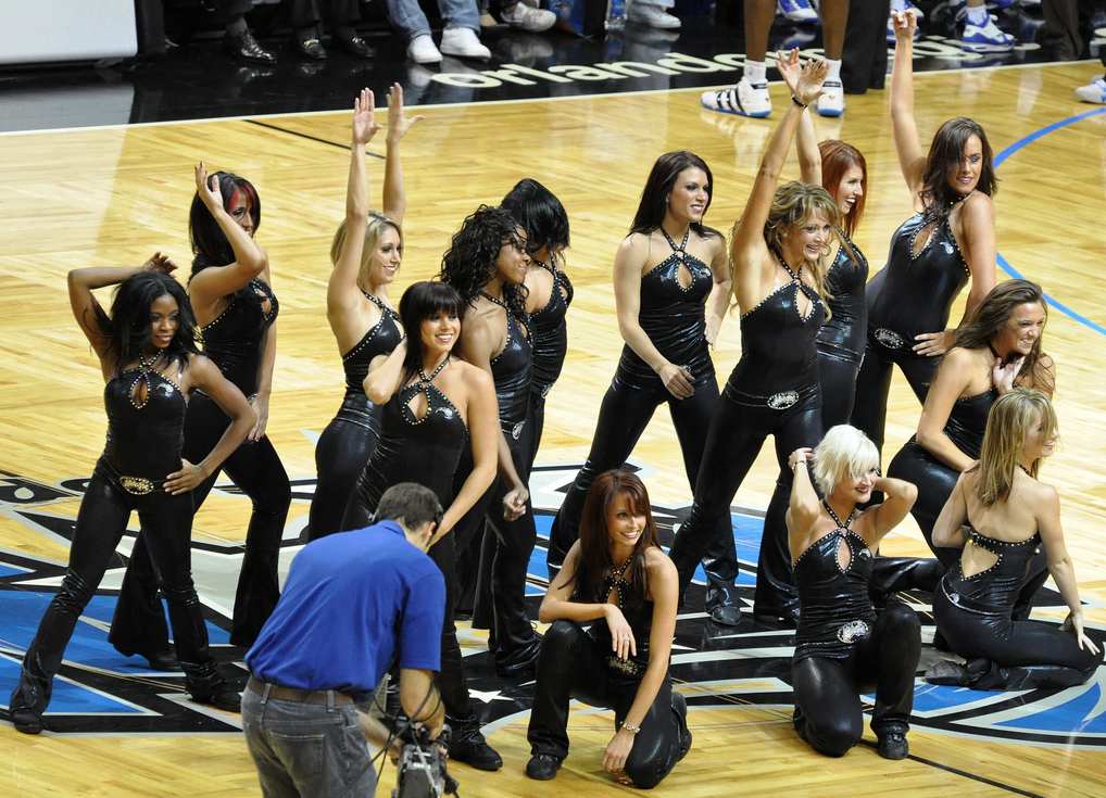 orlando magic dancers routines 2010