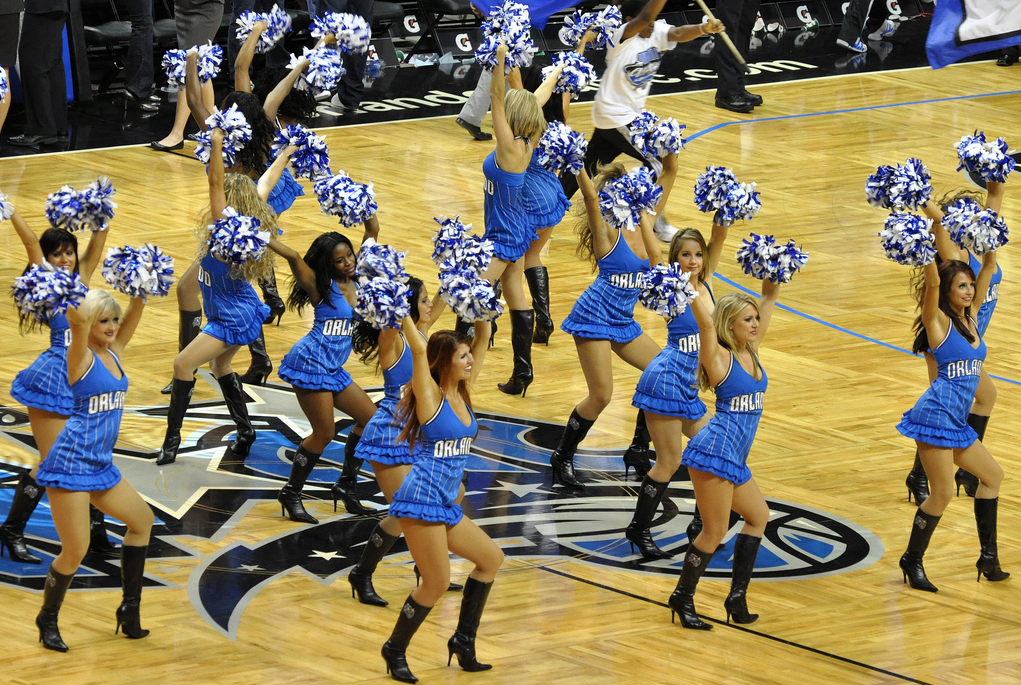 orlando magic dancers sidelines 2010