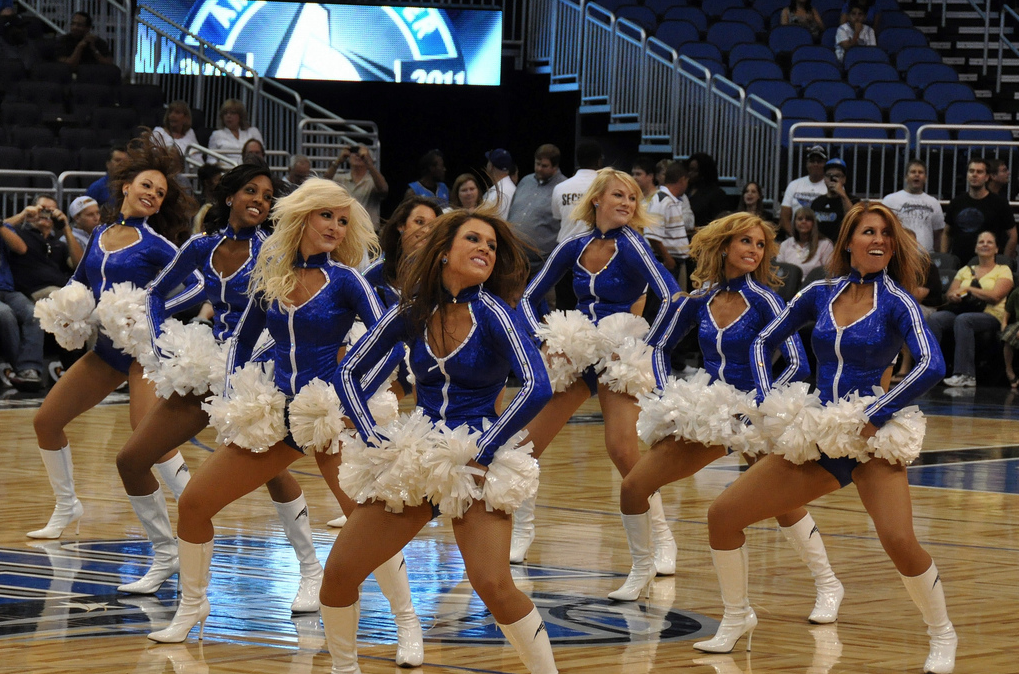 orlando magic dancers sidelines 2010-11