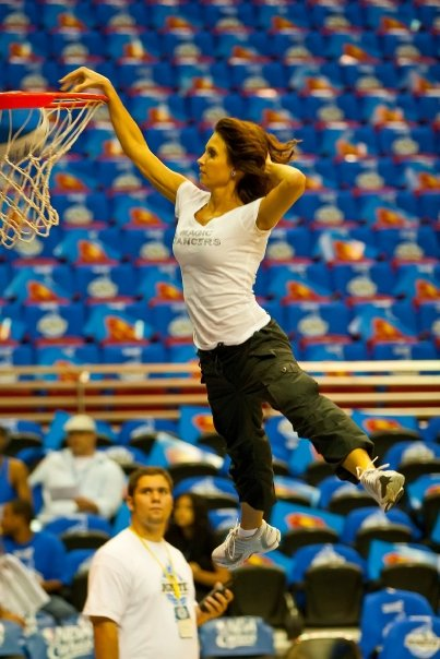heather dunking