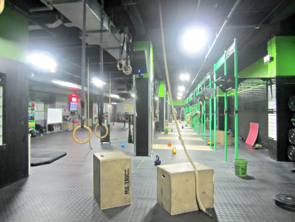 Reebok CrossFit Fifth Ave workout center