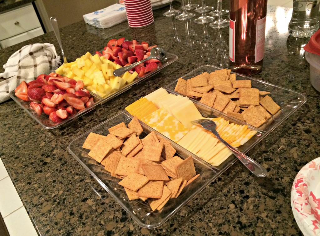 healthy gathering snacks