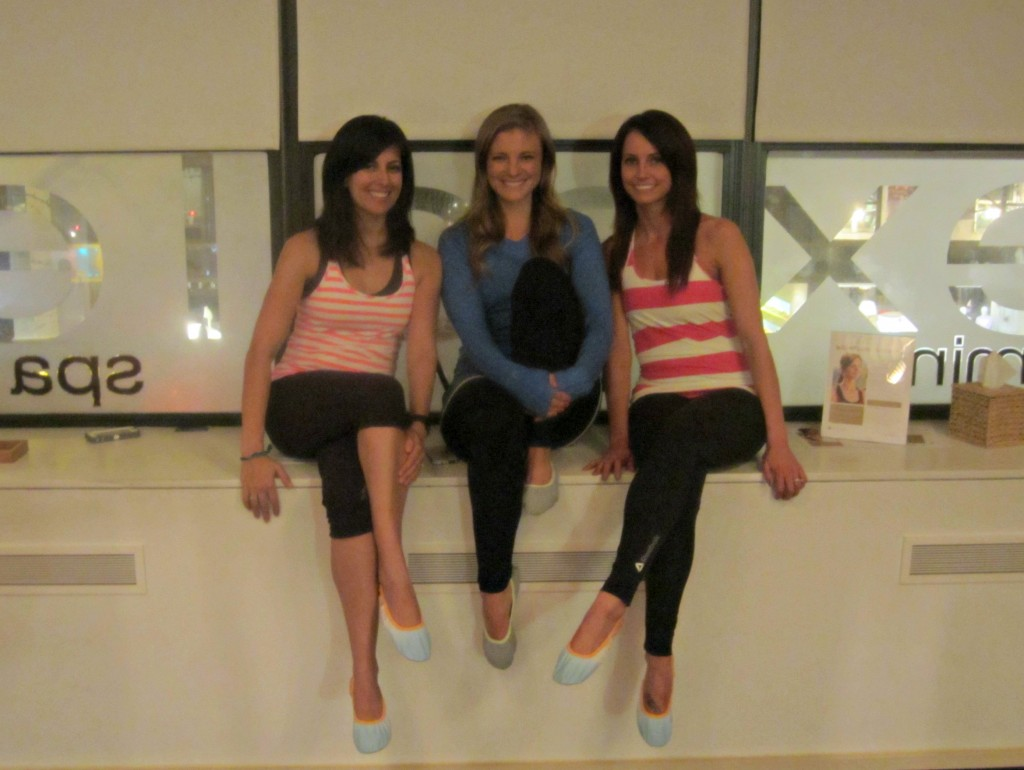 reebok bloggers at exhale spa upper east side