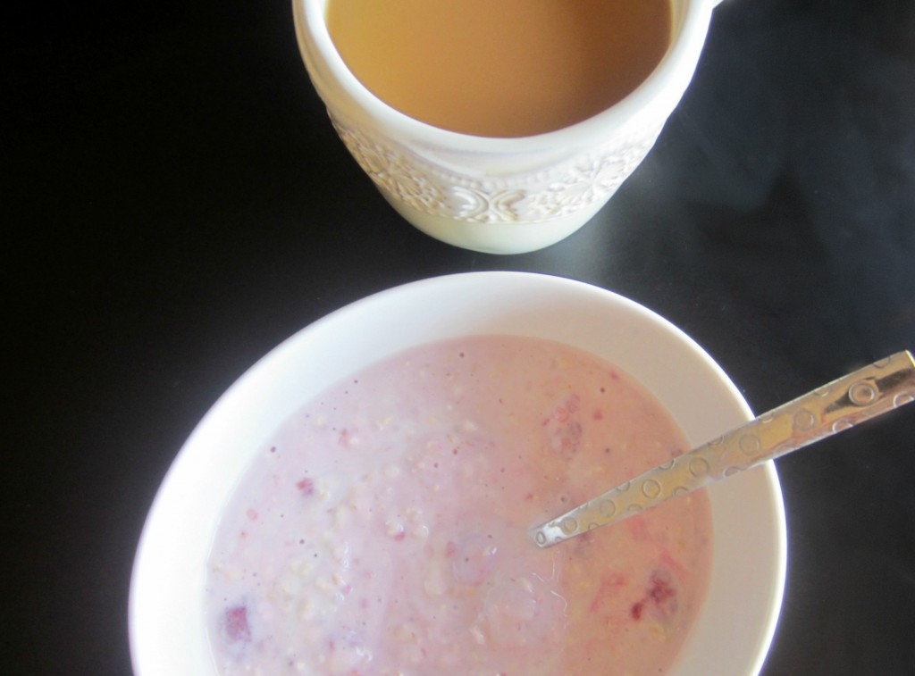 coffee and overnight oats
