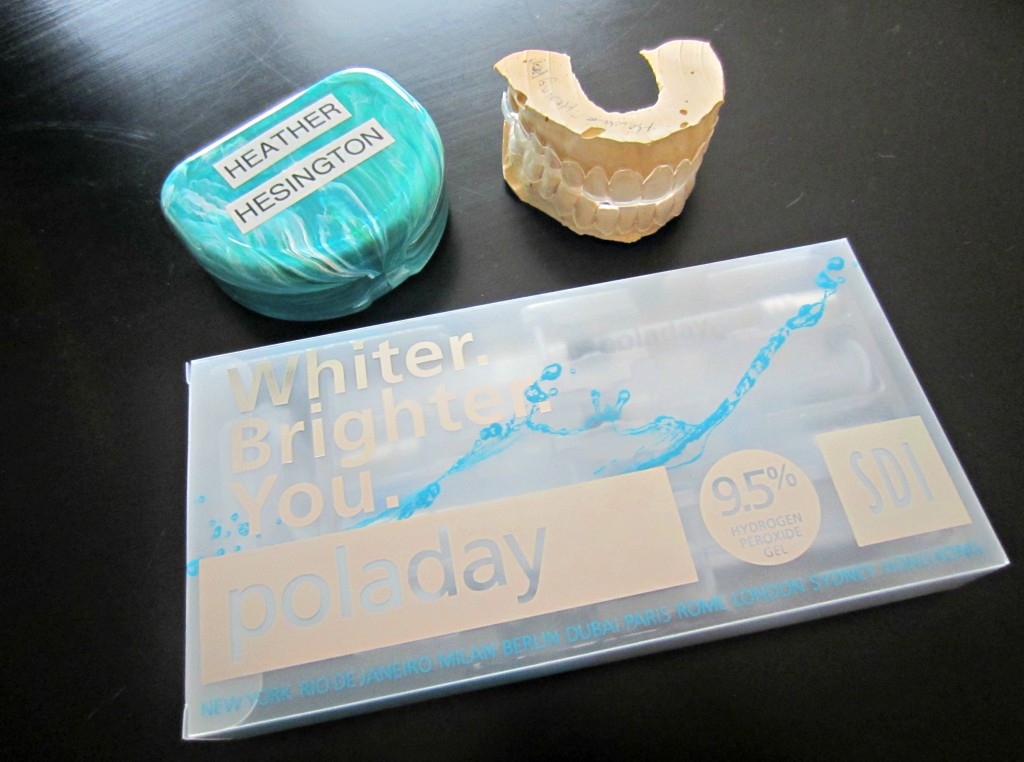 poladay whitening kit from dentist