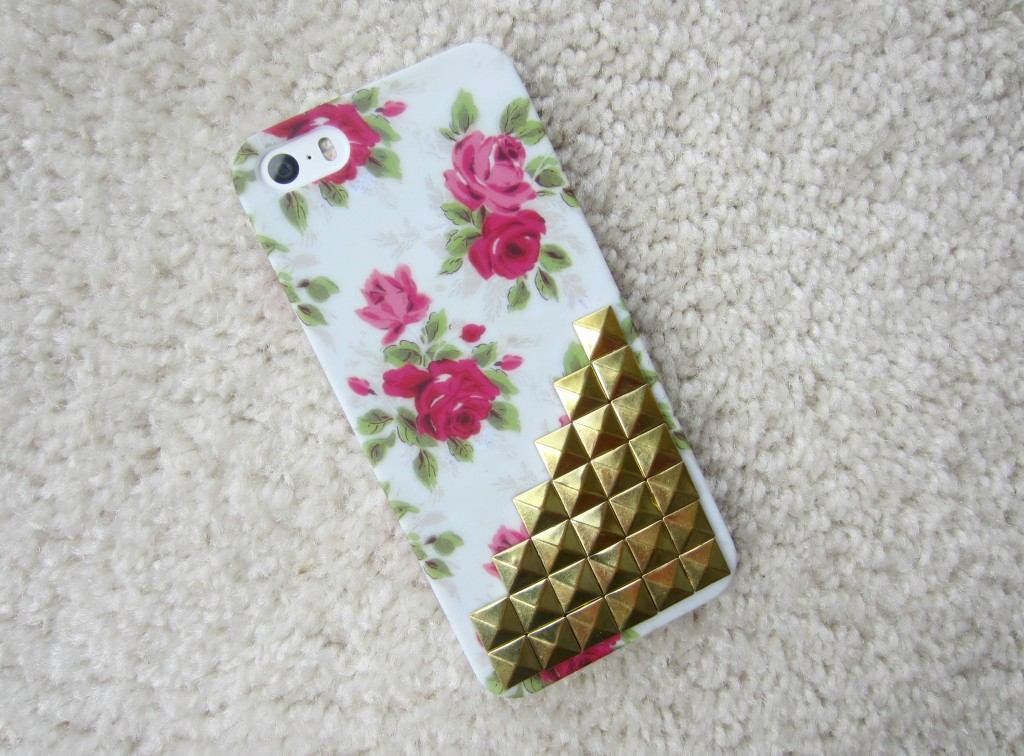 rose and gold stud iphone case amazon