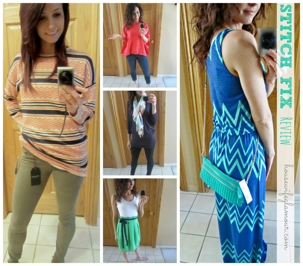 stitch fix online styling collage