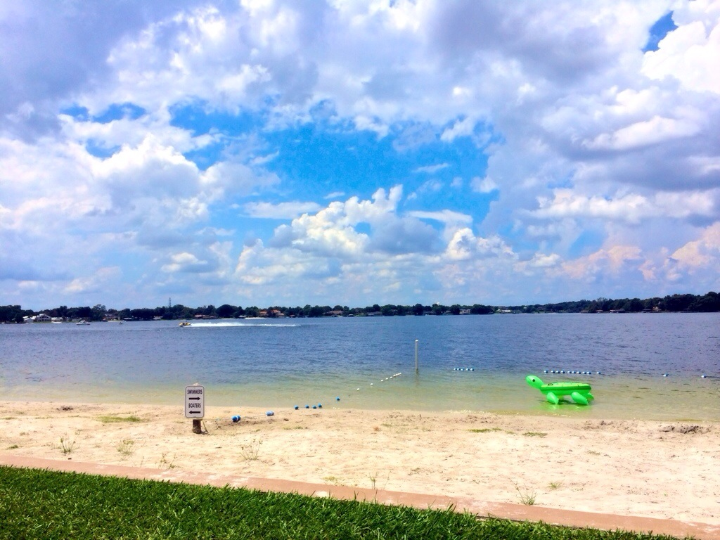 lake brantley beach