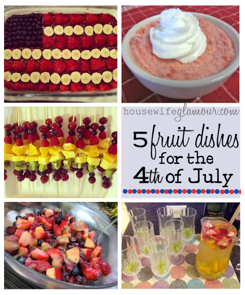 5 fruit dishes for the 4th of july