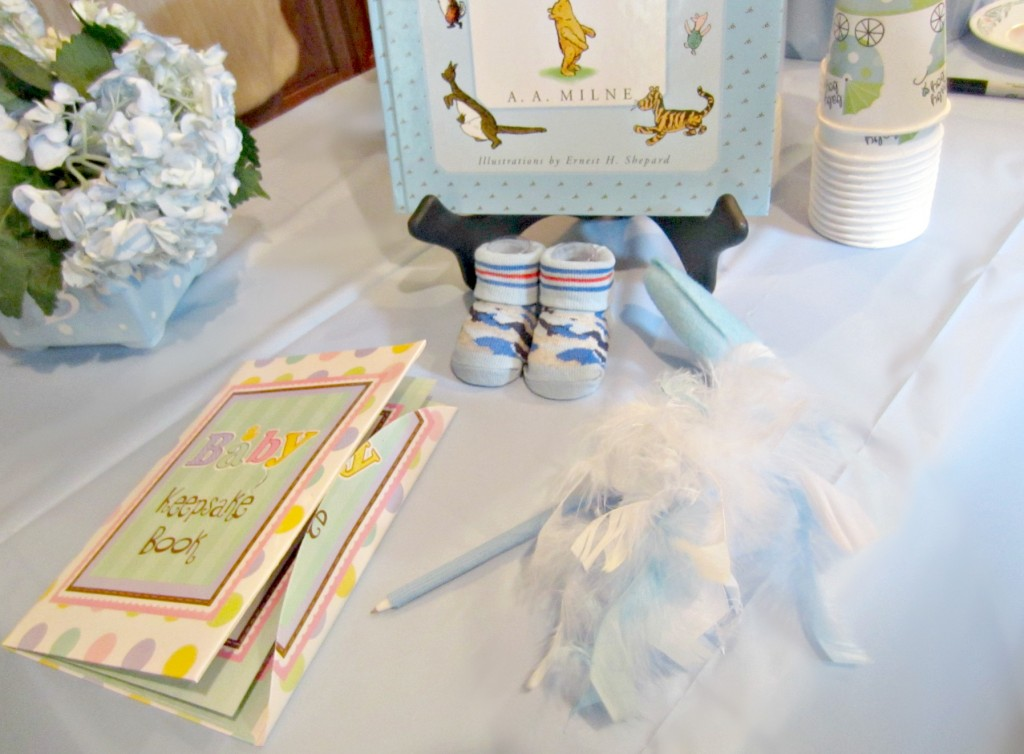 Baby Shower keepsake book