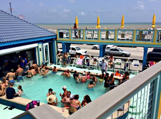 Float Bar Galveston pool jpg