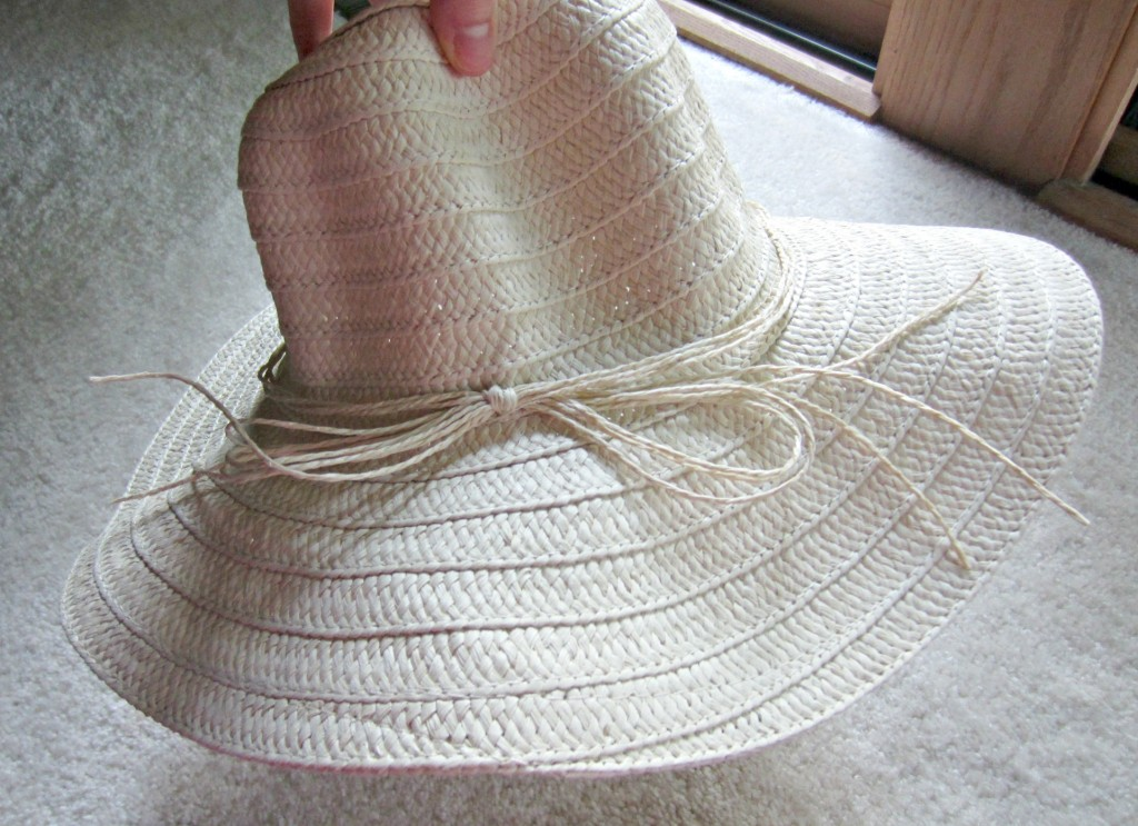 Floppy Straw Hat from Five below