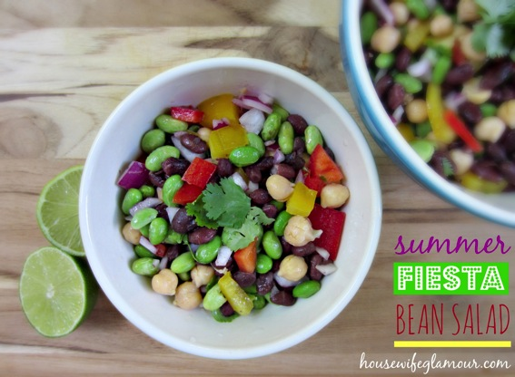 Summer Fiesta Bean Salad Cover