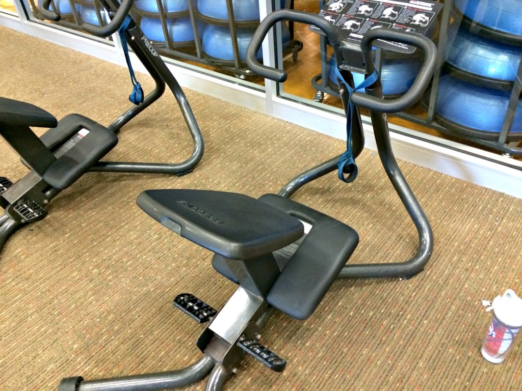 precor stretching machine