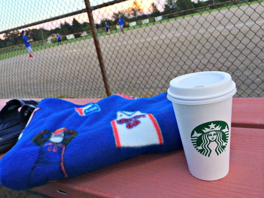 starbucks at softball