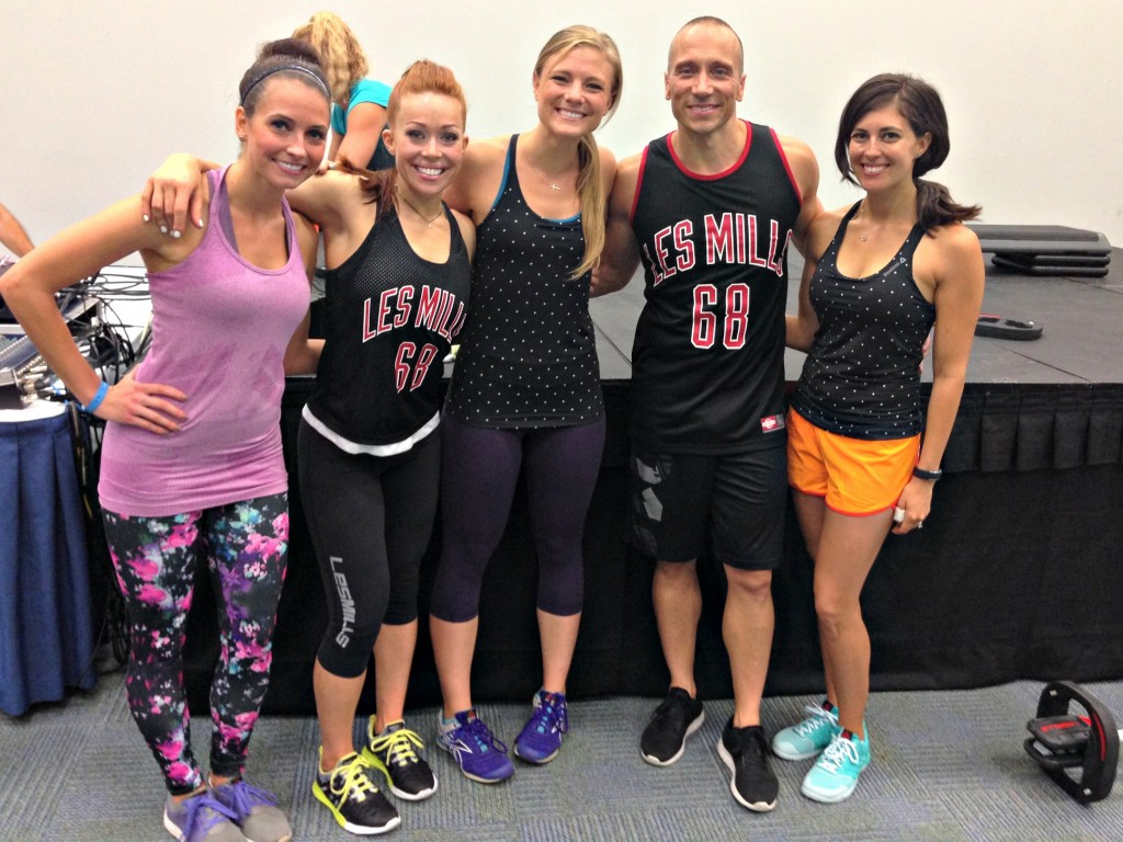 Les Mills BodyPump at IDEA World Fitness Convention