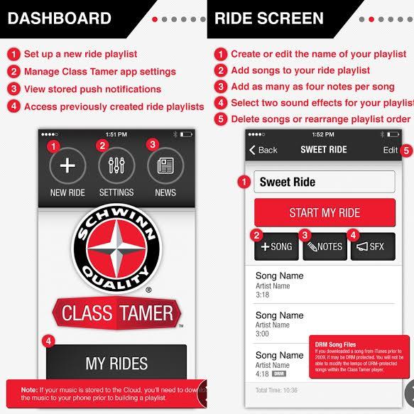 Schwinn Cycling Tamer App