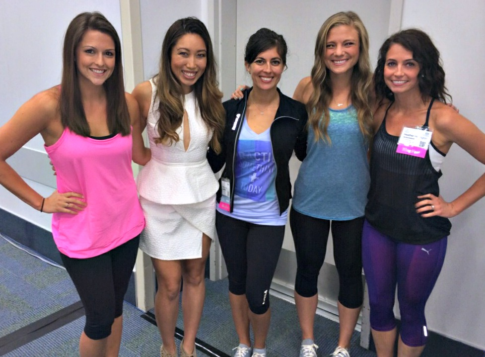 Session on Business Blogging with Cassey Ho Blogilates