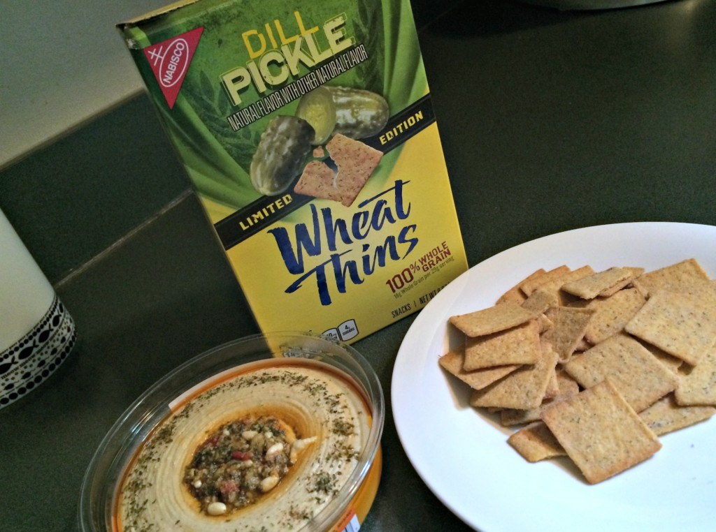 dill pickle wheat thins and hummus.jpg