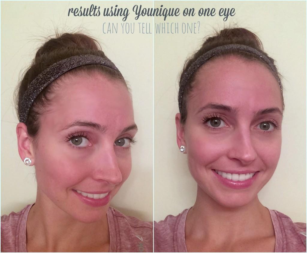 younique 3d fiber mascara results before