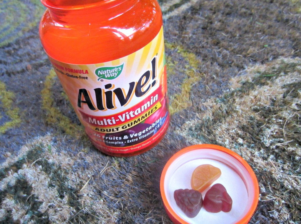 Alive multi-vitamin gummies