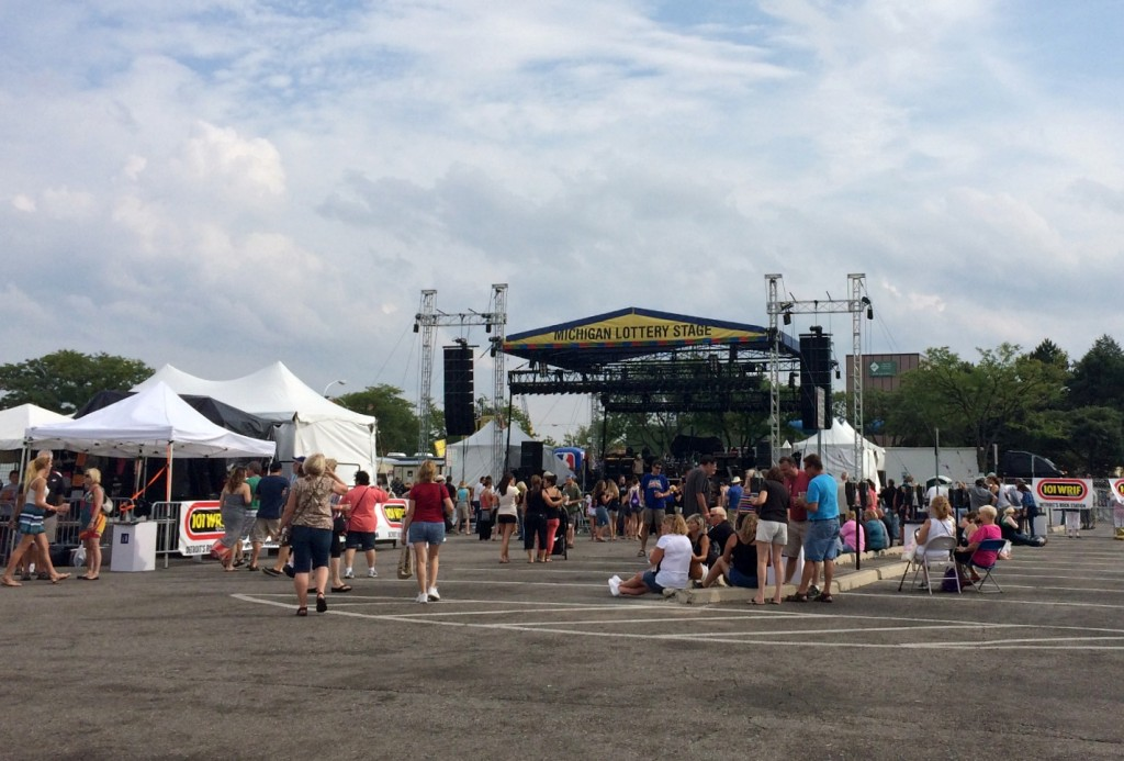 Arts Beats and Eats Michigan Lottery Stage