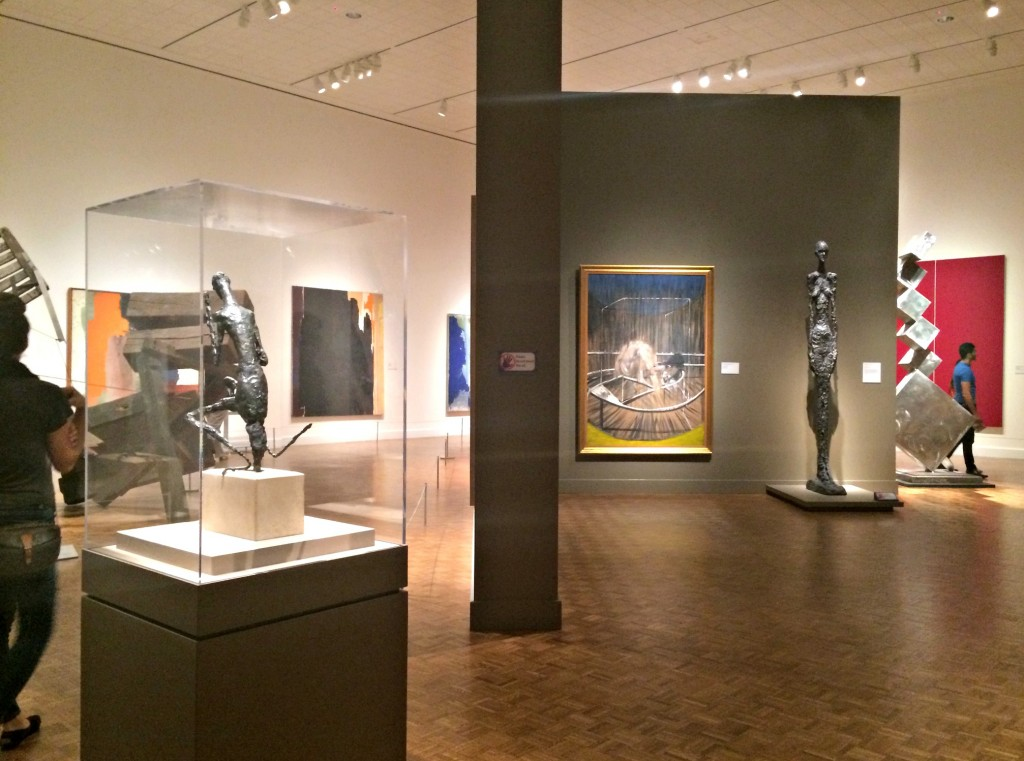 DIA modern exhibit