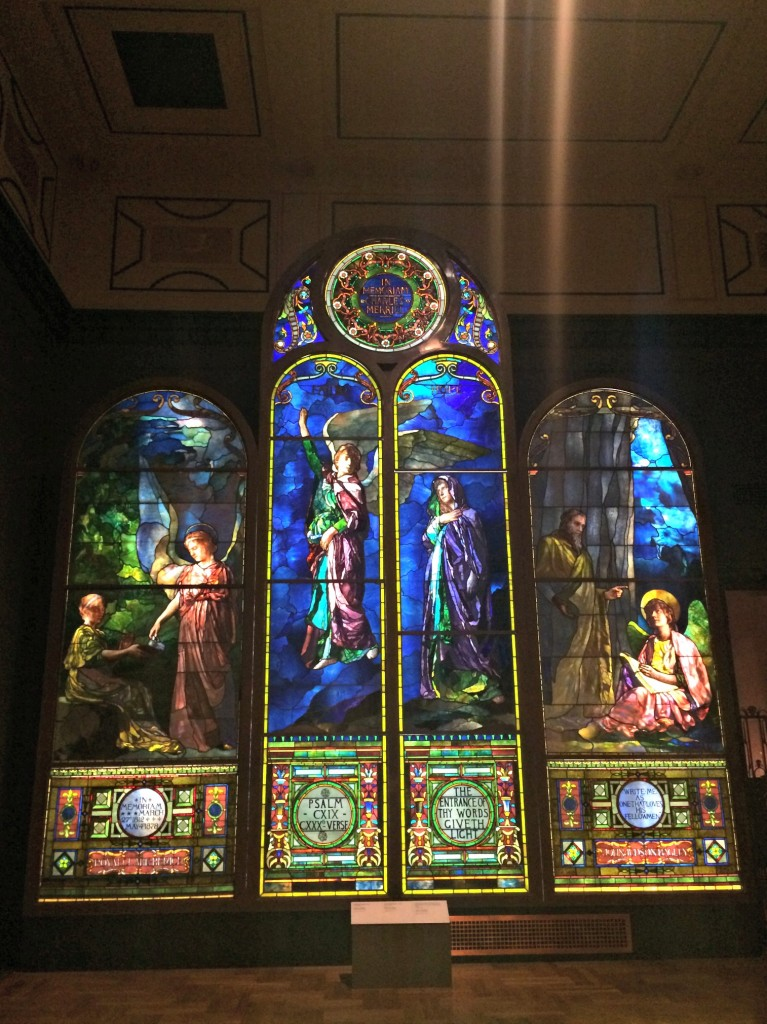 DIA stained glass