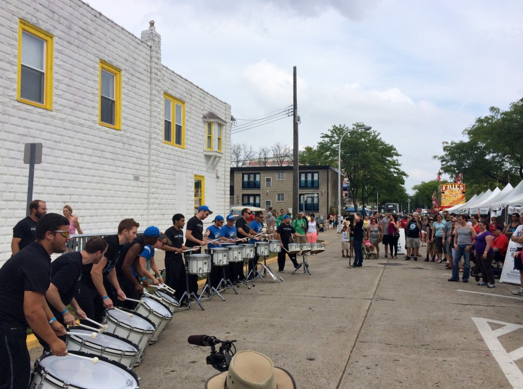 Detroit Lions Drumline Arts Beats and Eats