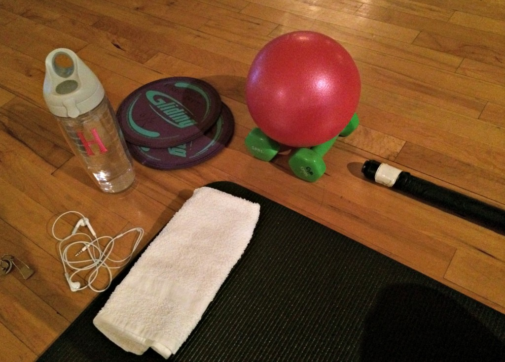 Life Barre class and eqiupment