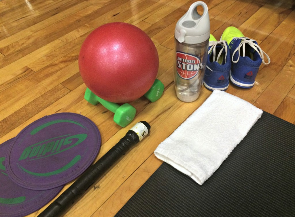 Life Barre class and equipment