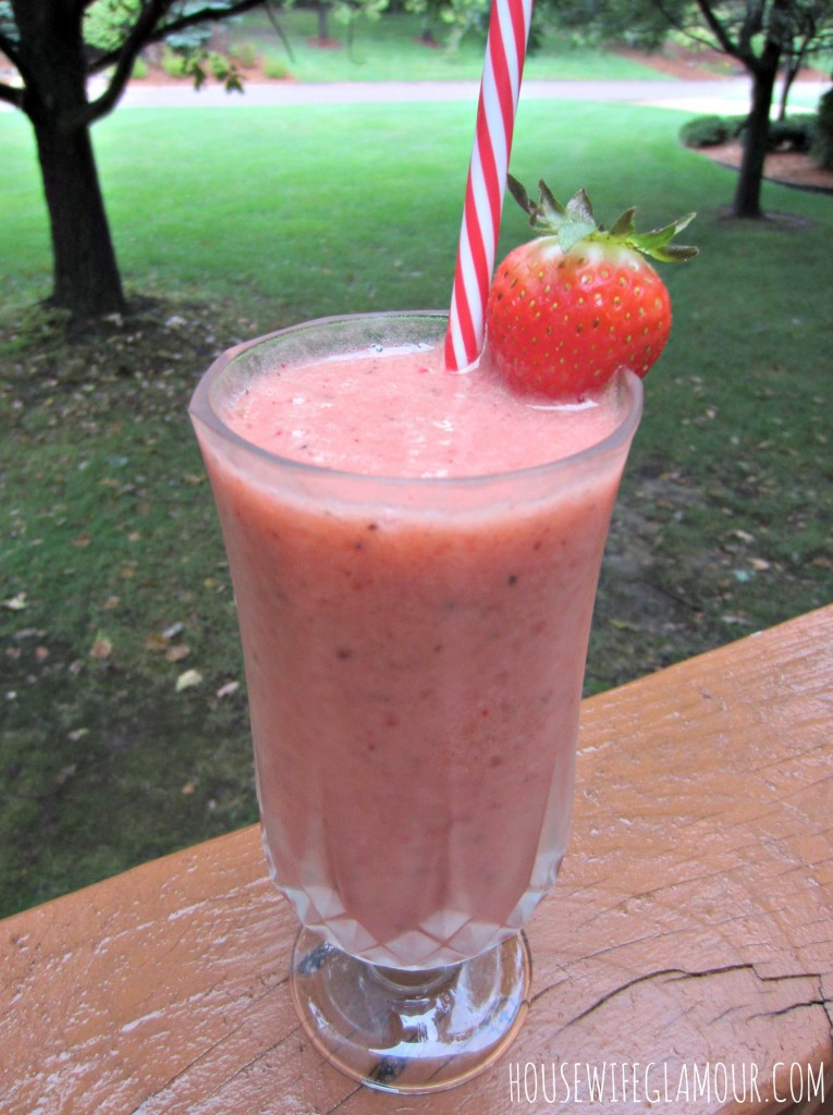 Strawberry Kiwi Sipper Metamucil Smoothie