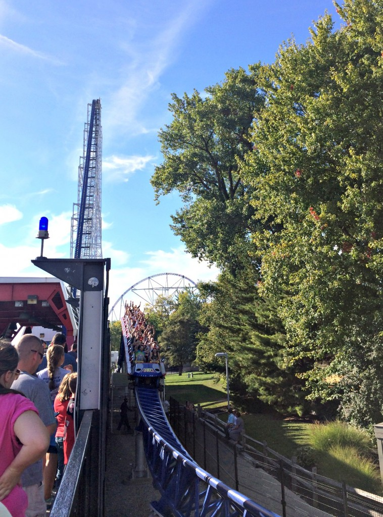 cedar point millenium force roller coaster