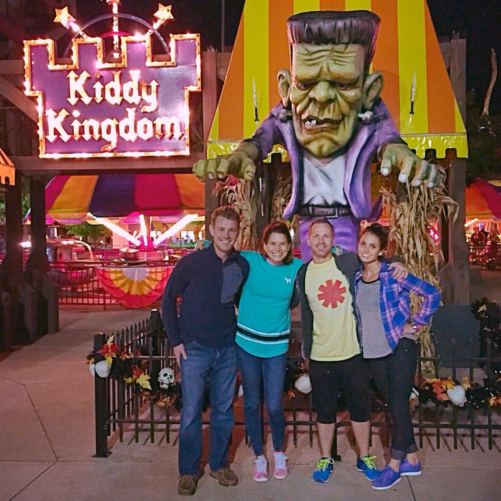 friends at cedar point halloweekends 2014
