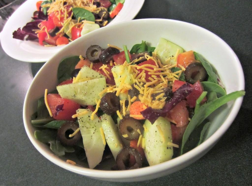 healthy side salad
