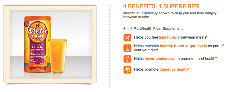 metamucil fiber supplement and benefits