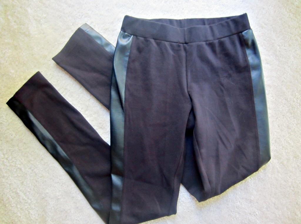 stitch fix faux leather detail pant