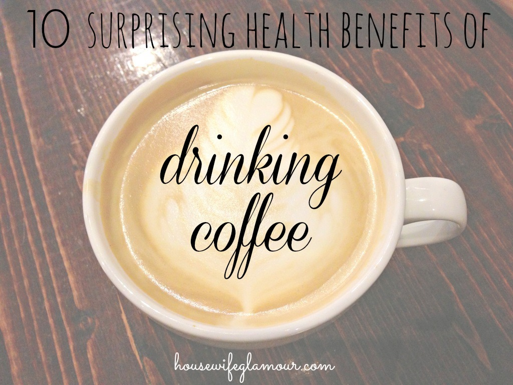 surprising health benefits of drinking coffee