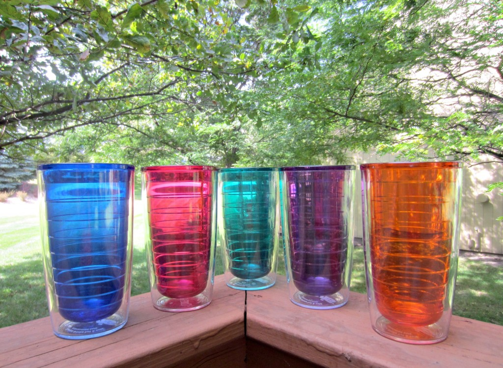tervis colorful tumblers