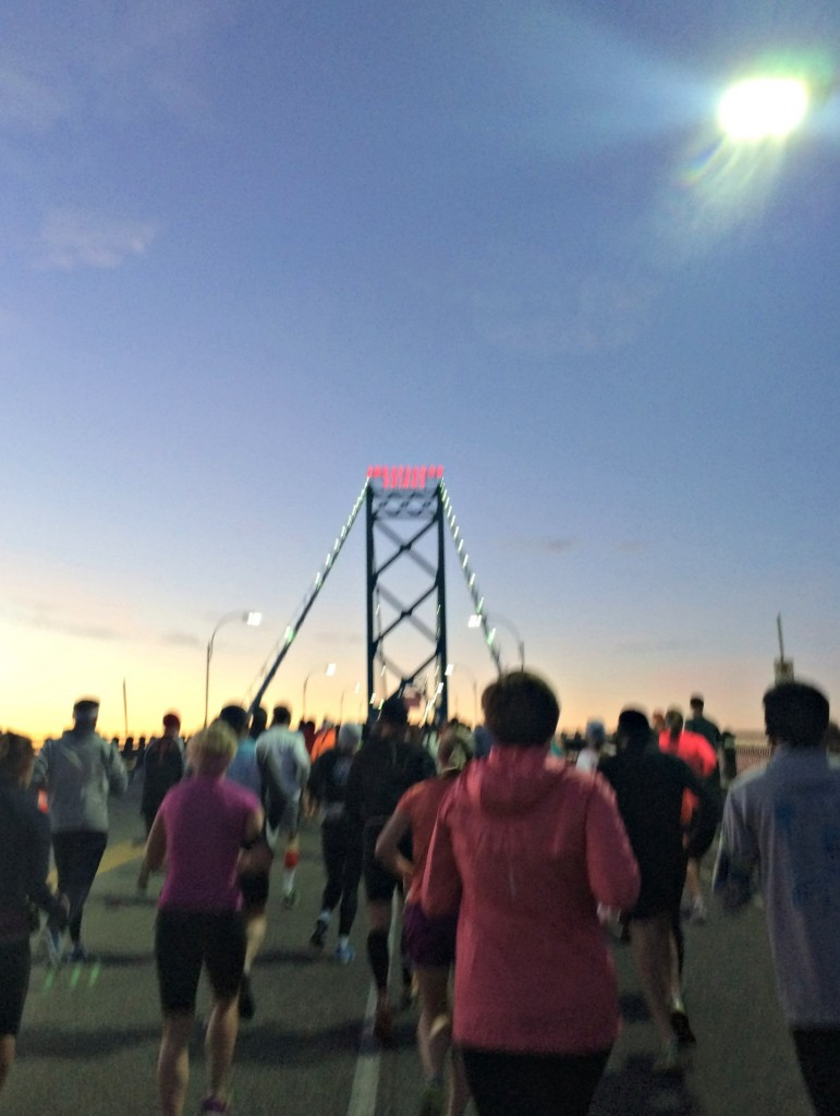 Detroit Press Marathon Ambassador Bridge