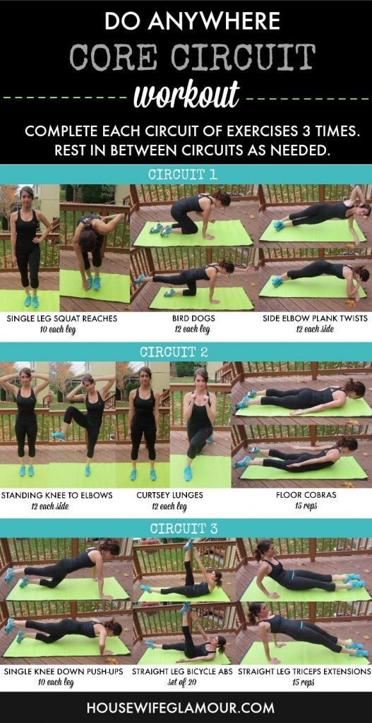 Do Anywhere Core Circuit Workout
