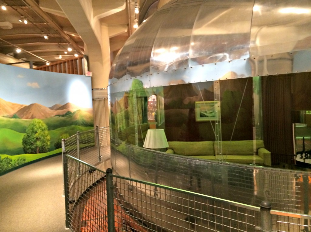 Dymaxion House inside Henry Ford Museum