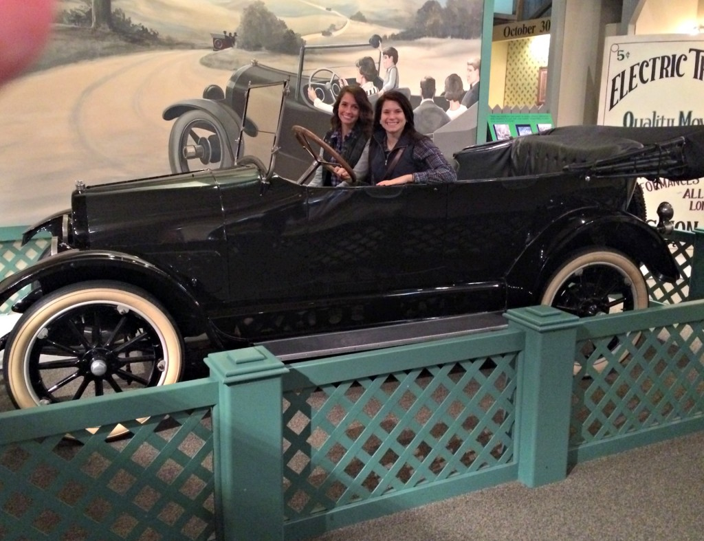 Henry Ford Museum in a ford