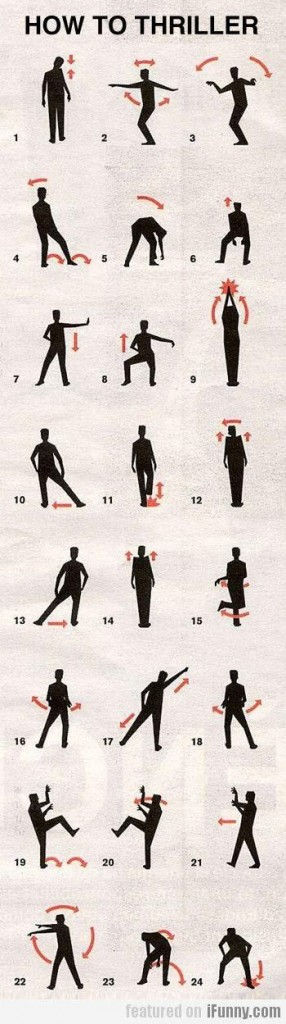 How To Thriller Dance