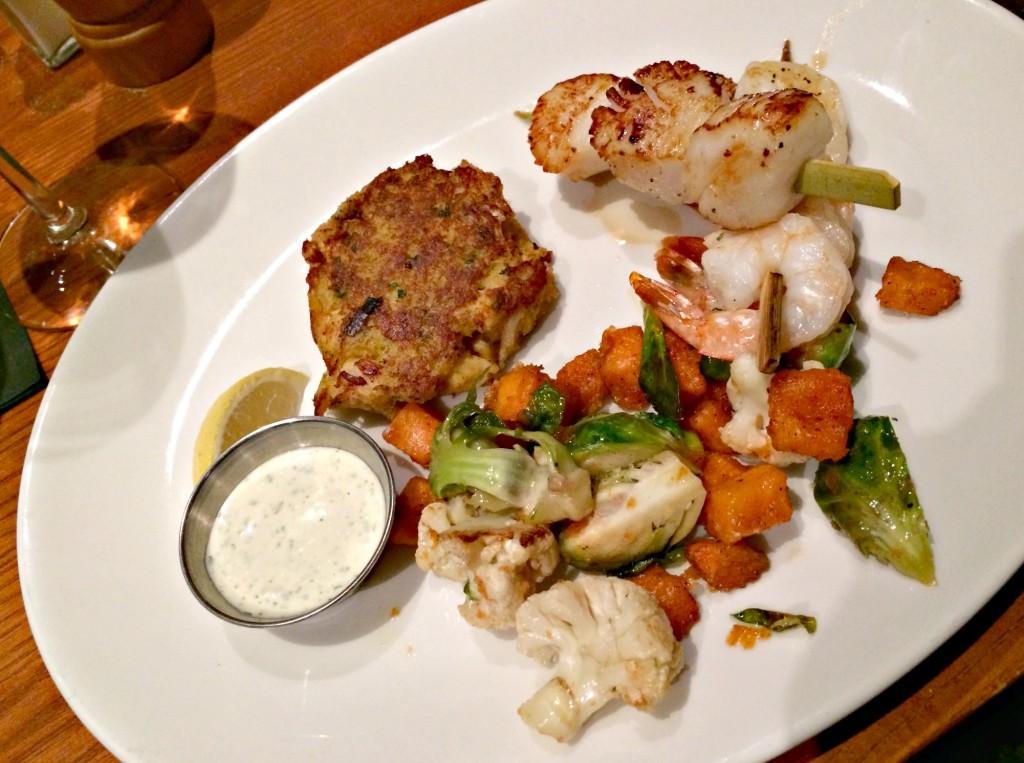 Mitchell's Fish Market Fall Seafood Plate