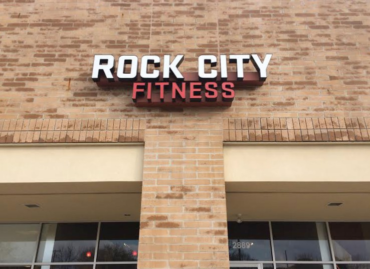 Rock City Fitness outside