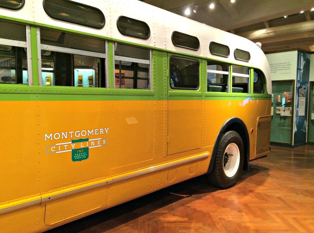 Rose Parks Bus Henry Ford Museum