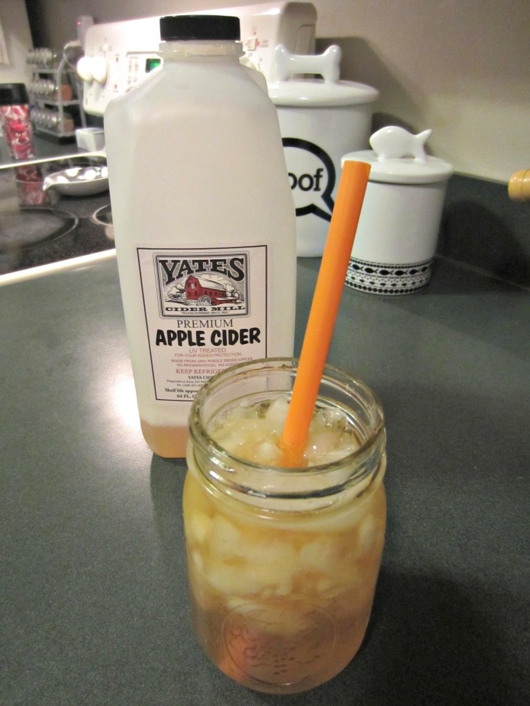 Yates cold apple cider
